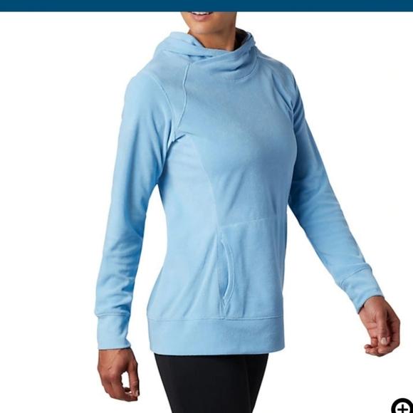 New $45 Womens Columbia Plus Size Arctic Air 1//2 Zip Fleece lightweight pullover